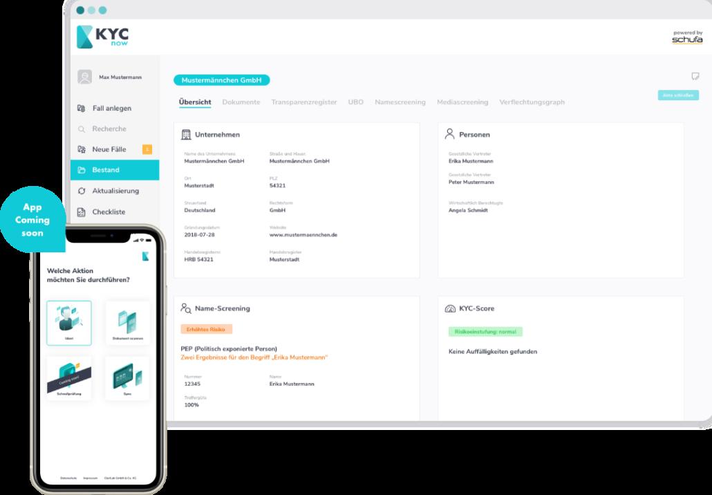 ClariLab App screen